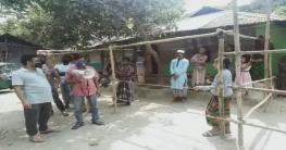 সোনাগাজীতে আরও ২৫ বাড়ি লকডাউন